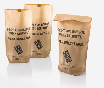 Papierbeutel für Frischprodukte