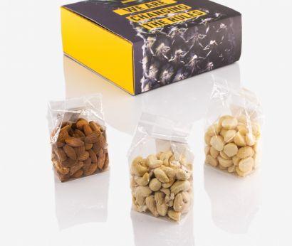 Boîte de dégustation de noix