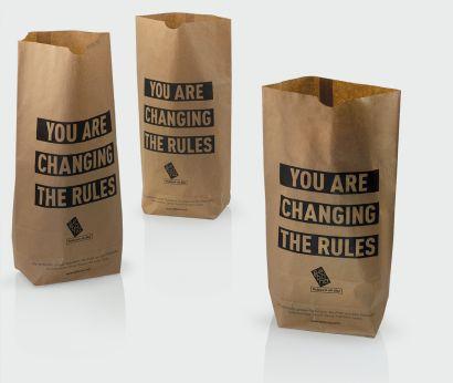 Sacs en papier pour les produits frais